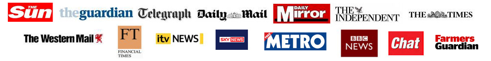 UK newspaper logos
